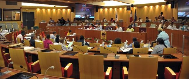 Assemblée plénière du conseil regional de Guyane-12 février 2010