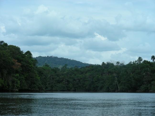 Rivière Orapu, limite inférieure de la réserve © RNR Trésor