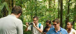 Visite du nouveau directeur du WWF France